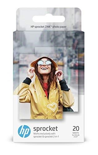 "HP Sprocket Zink 2x3"" Papir 50 stk."